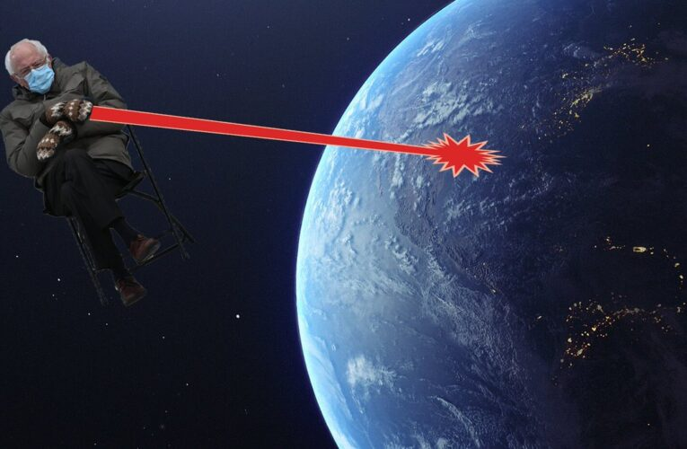 How to find a Jew's space laser